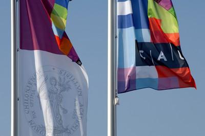 Flaggen Uni Kiel